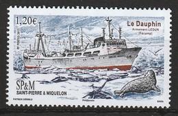 Saint Pierre Et Miquelon - N°1178 ** (2017) Chalutier - St.Pierre Et Miquelon