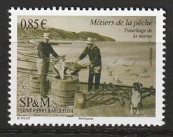 Saint Pierre Et Miquelon - N°1183 ** (2017) La Pêche - St.Pierre Et Miquelon