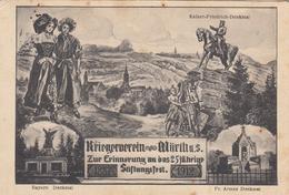 CARTE PROPAGANDE ALLEMANDE GUERRE 14-18 - KRIEGERVEREIN WÖRTH - ALSACE - Weltkrieg 1914-18