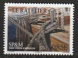 Saint Pierre Et Miquelon - N°1184 ** (2017) Vieux Gréements - St.Pierre Et Miquelon