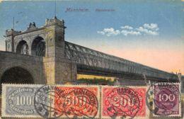 Mannheim - Rheinbrücke - Mannheim