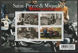 Saint Pierre Et Miquelon - N°F1185 ** (2017) Motos Anciennes - St.Pierre Et Miquelon