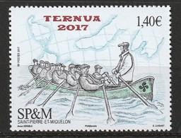 Saint Pierre Et Miquelon - N°1189 ** (2017)  Termua 2017 - St.Pierre Et Miquelon
