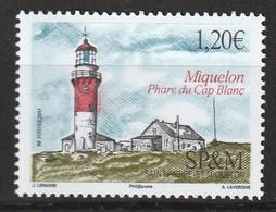 Saint Pierre Et Miquelon - N°1191 ** (2017)  Phare - St.Pierre Et Miquelon