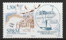 Saint Pierre Et Miquelon - N°1192 ** (2017) - St.Pierre Et Miquelon