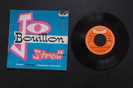 JO BOUILLON STROLL BLUES EP 19? VALEUR + PAUL ANKA.BLUES ROCK N ROLL - 45 Rpm - Maxi-Single