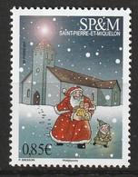 Saint Pierre Et Miquelon - N°1195 ** (2017) Noël - St.Pierre Et Miquelon