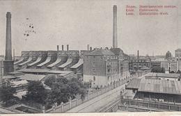 CPA GUERRE 14-18 - LODZ - POLOGNE - USINES ÉLECTRIQUES - War 1914-18