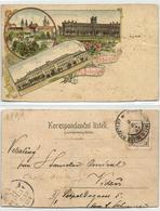 Czech, MLADÁ BOLESLAV, Multiview Litho (1899) Postcard - Tchéquie