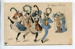 Illustrateur  Roberty Mode 1909 - Künstlerkarten