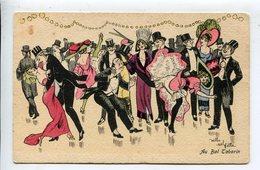 Illustrateur  Femme Bal Tabarin - Künstlerkarten