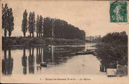 Dep 93 , Cpa NOISY Le GRAND , 4 , La Marne (Fr.17015) - Noisy Le Grand