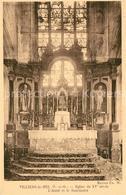 13605562 Villiers-le-Bel Eglise Du XVe Siècle Autel Et Le Sanctuaire Villiers-le - France