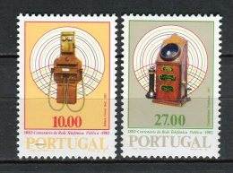 Portugal 1982. Yvert 1541-42 ** MNH. - 1910-... Republic
