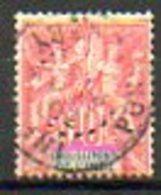 ETABLISSEMENT FRANCAIS DANS L'INDE - 1900-07 - N° 14 - 10 C. Rouge - India (1892-1954)
