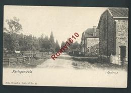 HERTOGENWALD. (Baelen) Hestreux. Nels  Série 9, N°43. Au Dos, Pub. Hôtel Dounen, Souverain-Pont, Liège. - Baelen