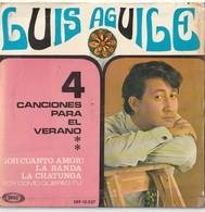 6 Discos Vinilo. 45 T. Luis Aguile. Jo Bouillon. Boney M. Esmeralda Mistral. Udo Jürgens. Calypso. Condición Media. - Vinyl-Schallplatten