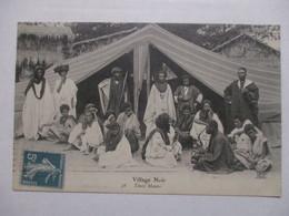 CPA CPSM CP POSTCARD MAURITANIE 1911 - VILLAGE NOIR / TENTE MAURE / ANIMATION - TRÈS BON ETAT - Mauritania