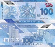 Trinidad & Tobago 100 Dollars P New 2019 Polymer UNC - Trinidad & Tobago
