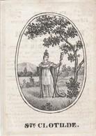 Marie Therese De Corswarem-notaris Hubar-st.truyen 1836 - Images Religieuses