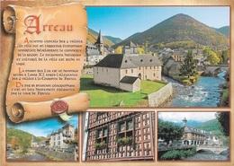 65 ARREAU - Ancienne Capitale Des 4 Vallées  - Multi Vues - 4 Vues + Parchemin - Cpm - Vierge - - Francia