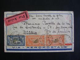 FRANCE - LETTER SENT FROM PARIS TO RIO DE JANEIRO (BRAZIL) IN 193? IN THE STATE - Brieven En Documenten