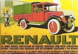 Les Usines RENAULT Construisant Des Vehicules Industriels  -  Publicité  -  15x10cms PHOTO - Camión & Camioneta