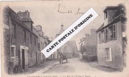 50 - ENVIRONS D'AVRANCHES - PONT - LA RUE DE L'EGLISE - Other Municipalities