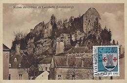 Luxembourg  -   Ruines Du Château De Larochette  - Edit.Artistique R.Tippmann,Photographe Diekirch - Cartes Postales