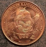 4068 Vz Lauwe-Menen-Rekkem 50 Kandeel – Kz Orde Van De Kandeeleters Menen - Gemeentepenningen