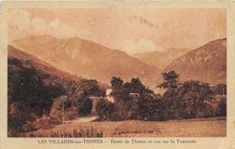 Les Villards-sur-Thônes - Route De Thônes Et Vue Sur La Tournette - Francia