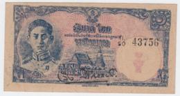THAILAND 1 BAHT 1945 VF++ Pick 54a - Thailand