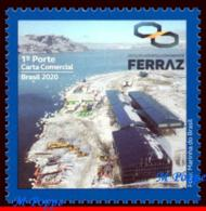 Ref. BR-V2020-01 BRAZIL 2020 SCIENCE, ANTARCTIC STATION, COMMANDER FERRAZ, PROANTAR, MOUNTAIN,MNH 1V - Brasilien