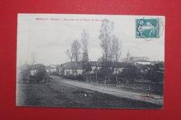 24377   CPA  SOUILLY  : Vue Prise Sur La Route De Bar Le Duc !! 1910 !! - Autres Communes