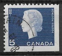 Canada 1963. Scott #405a (U) Queen Elizabeth II And Wheat - Single Stamps