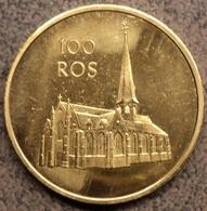 4078 Vz 100 Ros Kerk - Kz Beveren-Waas - Gemeentepenningen