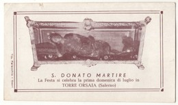 582 Santino Antico San Donato Martire - Religion & Esotérisme