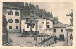 2a.458. Pieve Di Cadore - Casa Ove Nacque Tiziano - Belluno - Otras Ciudades