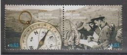 PORTUGAL CE AFINSA 3543/2544  - USADO - SELO DO BLOCO - 1910 - ... Repubblica