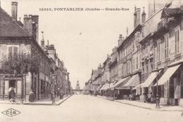 25  Doubs  -  Pontarlier  -  Grande  Rue - Pontarlier