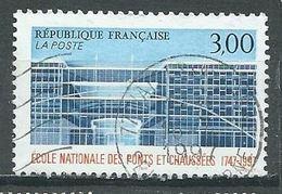 France YT N°3047 Ecole Nationale Des Ponts Et Chaussée Oblitéré ° - Frankreich