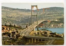 Istanbul, Bosphorus Bridge, Boğaziçi Köprüsü, Unused Postcard [23750] - Turkey