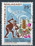 °°° MADAGASCAR - Y&T N°515 - 1973 °°° - Madagascar (1960-...)