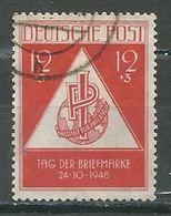 Allemagne Zone Soviétique YT N°31 Journée Du Timbre Oblitéré ° - Sowjetische Zone (SBZ)