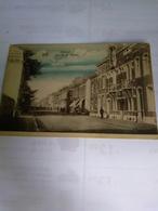 Belgique Cpa 1924 A Bruxelles Bon Cancelation De Hannut Rue De La Station - Hannut
