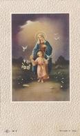 Image Pieuse Souvenir Première Visite De Jésus Dans Mon Coeur 1956 Marie-Odile Daile - Devotion Images
