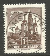 AUSTRIA. 1S BUILINGS. MARIAZELL USED ANSTETTEN POSTMARK - 1961-70 Usados