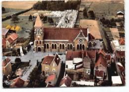 Bauvin. Eglise, Cimetiere - Vue Aerienne Edit Cim - France