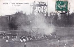 03 - Allier - VICHY - Festival Des Sapeurs Pompiers - 8 Septembre 1907 - Vichy