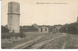 PANCE. La Gare Des Tramway. - France